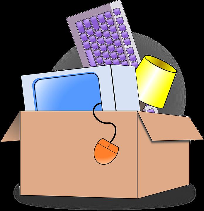 inpakken en verhuizen